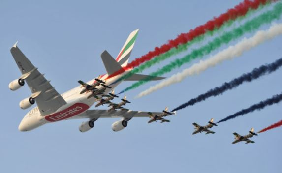 Dubai Air Show Timing 2018