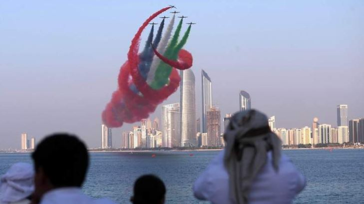 UAE National Day Air Show Timing 2018