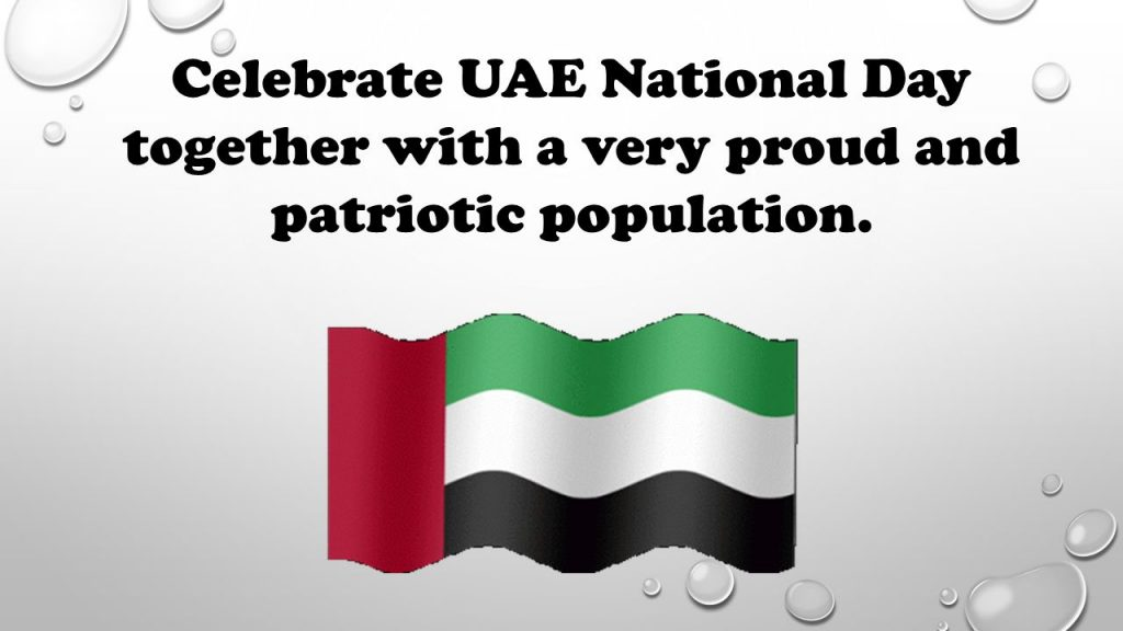 UAE National Day Essay 2018