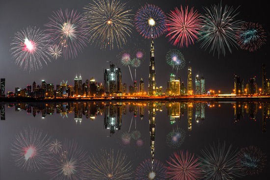 47 uae national day fireworks