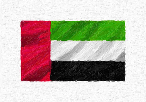 national day vector uae