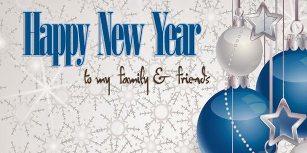 happy new year family image