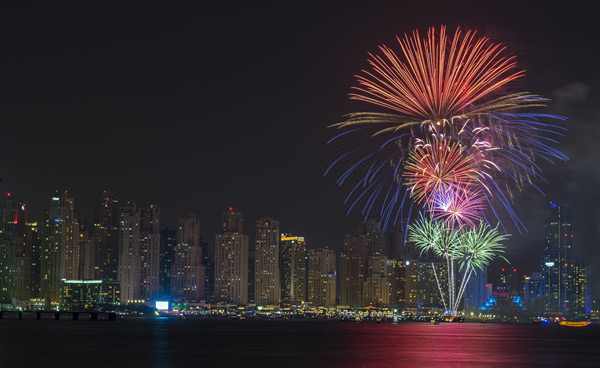 happy new year images uae
